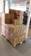 200 kg de llibres per folrar