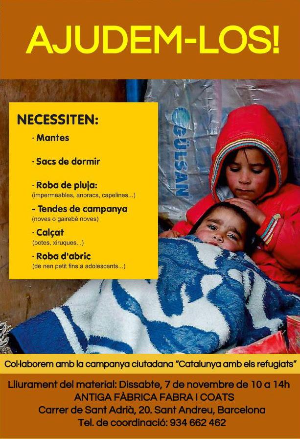 Cartell Campanya Refugiats Ajudem-los_0