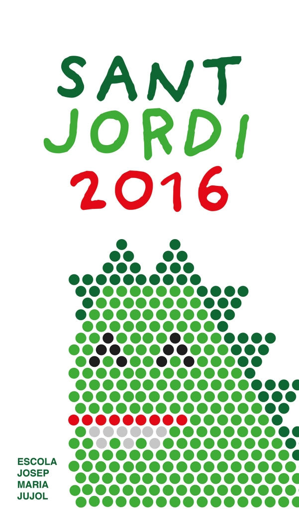 Cartell Sant Jordi Jujol 2016